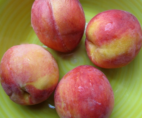 Fresh local peaches are perfect for summer desserts
